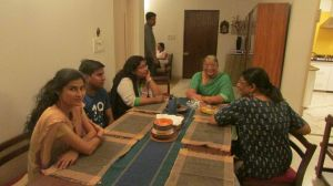 June/2015 visit by Dhanak