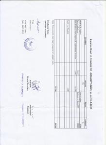 balance sheet - FY 2014-2015 (sheet 2)